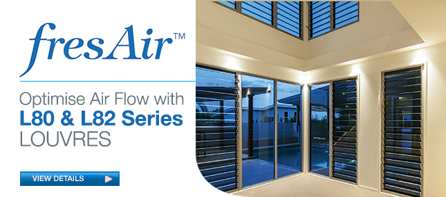 CRL L80 and L82<br> &nbsp;&nbsp;Series Louvres
